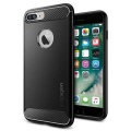 OCHRANNÝ KRYT (TPU) SPIGEN Rugged Armor PRO APPLE IPHONE 7 PLUS - BLACK