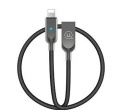 USAMS SJ154 Datový Kabel Lightning Power OFF U-Sun Black (EU Blister)